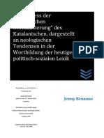 Dissertation Jennybrumme