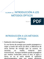 Introduccion a Los Metodos Opticos. Tema 2