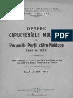capuchehaile moldovei