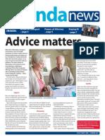 agenda news issue 21 - Summer 2014