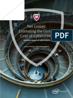 Net Losses - Estimating the Global Cost of Cybercrime