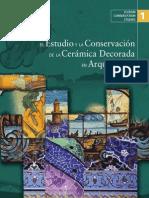1_ICCROM Conservating Studies_El Estudio y La Conservación d Ela Cerámica Decorada en Arquitectura