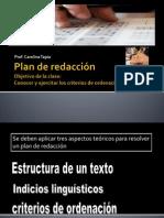 Plan de Redaccic3b3n
