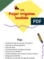 Etape de Realisation Du Projet d Irrigat