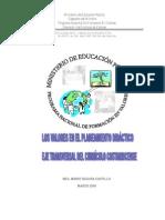 Valoresyplaneamiento Costa Rica