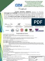 Certificados Minicurso Enfermagem Em Cardiologia