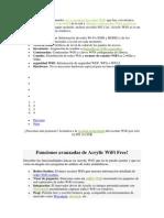 Acrylic WiFi Free Ver y Escanear Las Redes WiFi a Tu Alcance