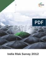India Risk Survey 2012