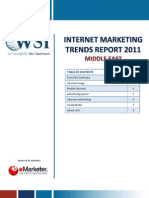 Eworks WSI Internet Marketing Trend Report 2011 Middle East