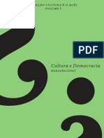 Cultura e Democracia - Marilena Chauí