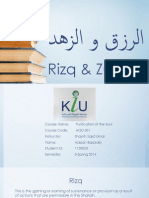 Rizq and Zuhd