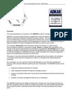 ADKAR Overview