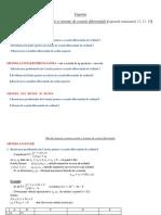 Metode Numerice Pentru Ecuatii Si Sisteme de Ecuatii Diferentiale