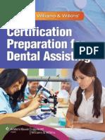Certification Preparation for Dental Assisting B Bennett Et Al Lippincott 2012 BBS