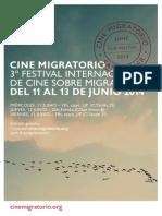 III Festival Internacional de cine sobre migración