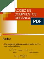 Acidez Basicidad Compuestos Orgánicos