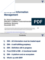 [EN] EIM Enterprise Information Management
