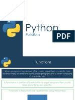 Functions - Python