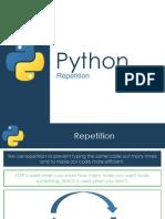 Repetition - Python