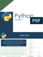 Python - Selection