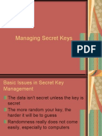 Managing Secret Keys
