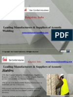 Accoustic Panels Manufacturers