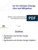 Agroforestry for Climate Change Adaptation and Mitigation