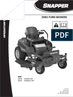 Manual - Snapper Zero Turn Mower Like Craftsman
