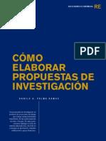 Modelo de Propuesta de Investigación