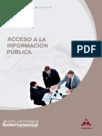 Acceso a La Informacion Publica