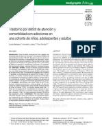 Relacion TDA:H Con Adicciones