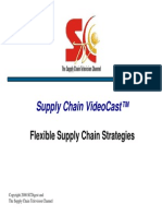 Flexible Supply Chain Strategies