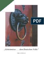 Geheimnisse... Dem Deutschen Volke -s118