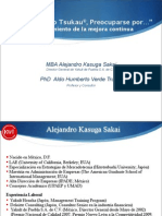 Modelo Ki Wo Tsukau - MBA Alejandro Kasuga Sakai