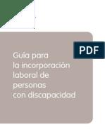 Guía Incorporación Laboral Personas Con Discapacidad