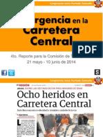 Carretera Central en Emergencia