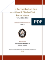 Edit Analisis Pertumbuhan Dan Distribusi PDB(1)