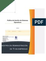 56469156 Politica de Gestion de Sistemas Operativos