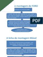 A Linha de Montagem de FORD e Fayol
