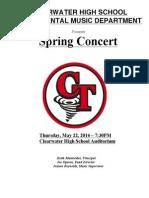 spring concert program