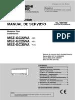 Msz-gc35va_manual Tecnico de Servicio_obh468a