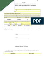 Ficha Antecedentes y CV Resumido Abr13