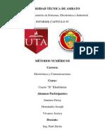 InformeMetodosCapitulo IV