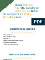 Sistema Envíos Con Geo Localización, FBL,
