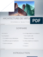 Architectures de Virtual is at i On