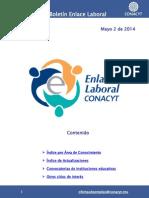 EnlaceLaboral AreaConocimiento Mayo 2014 052014