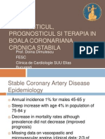 Diagnosis and Prognosis of Stable Coronary Artery Disease