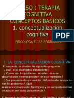 1.Terapia Cognitiva Conceptualizacion Cognitiva