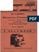 C.wathoul - L'Allumage