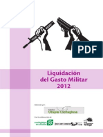 Liquidación Gasto Defensa 2012